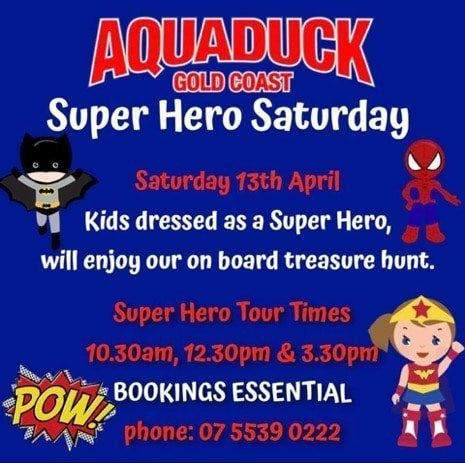Aquaduck Superhero image
