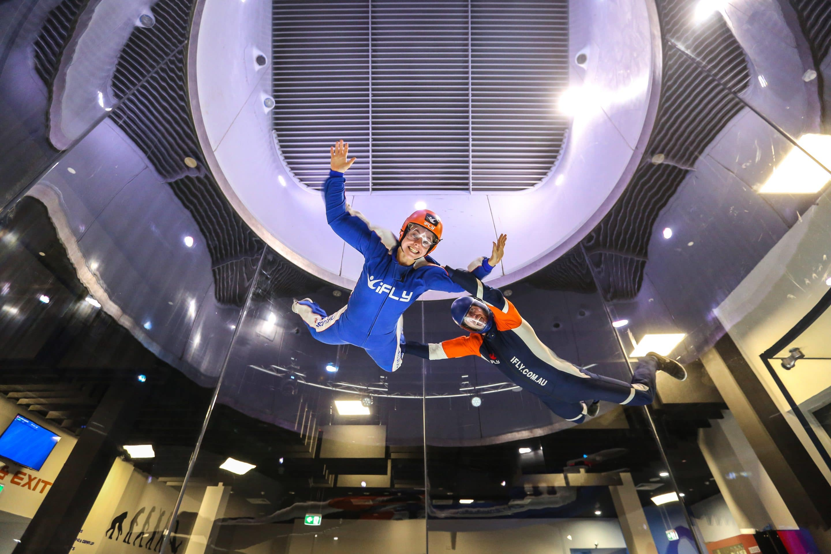 iFLY indoor Skydiving Surfers Paradise